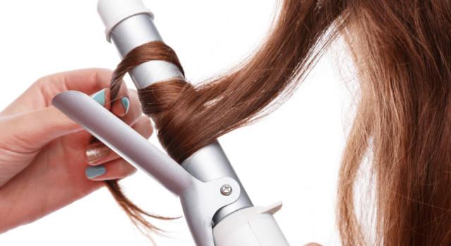 Come fare onde capelli con la piastra