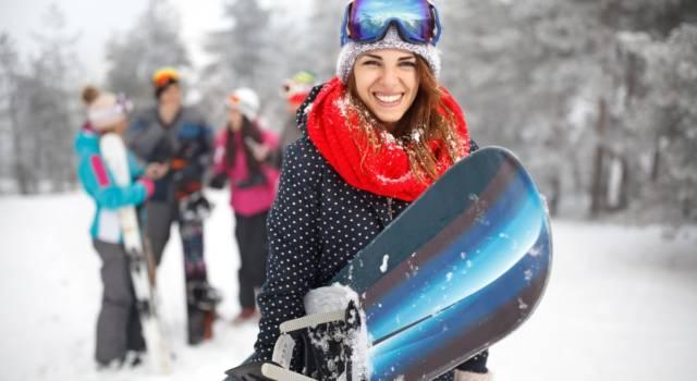 Come vestirsi per fare snowboard