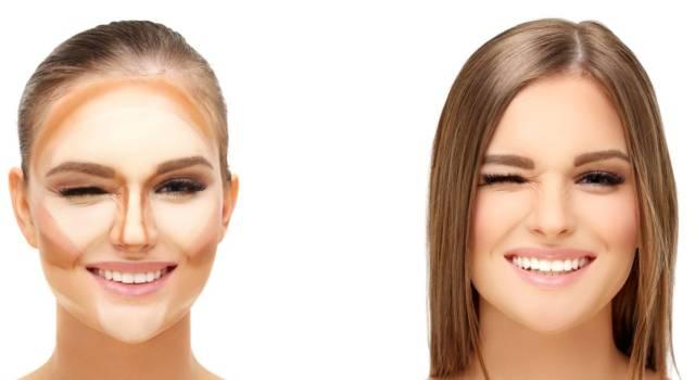 Contouring per viso ovale
