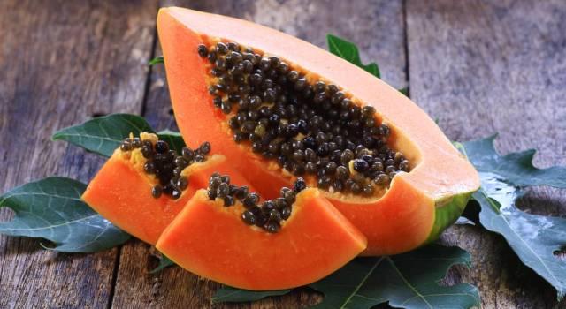 Come fare maschera di bellezza con polpa di papaya