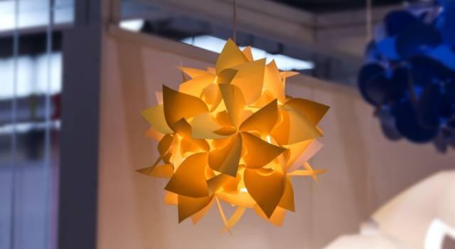 Decorazioni lampadario di carta