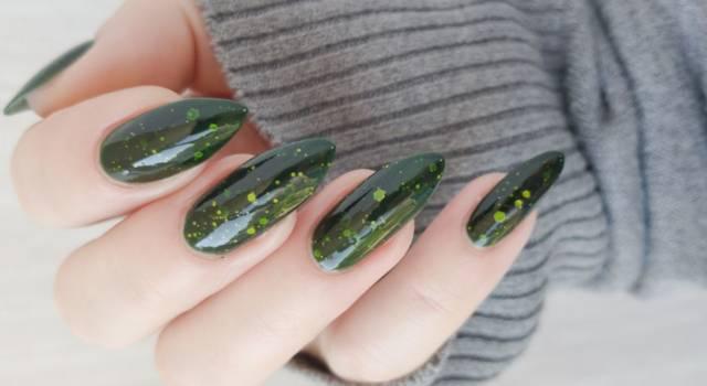 Tendenze unghie 2016 glass nail art