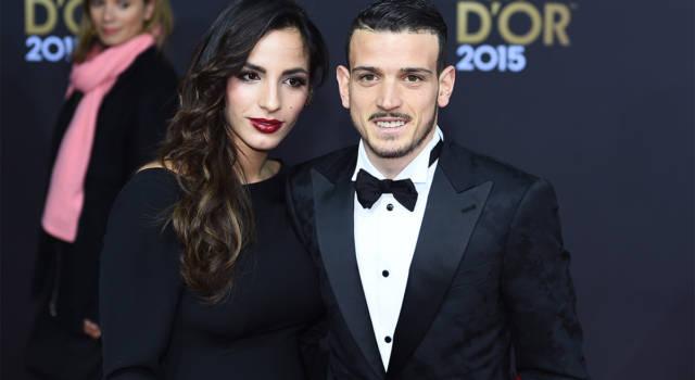 Modello abito sposa Ilenia Atzori moglie Alessandro Florenzi