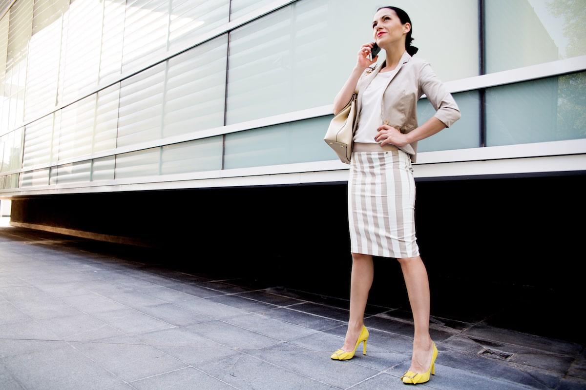 Outfit estivo ufficio