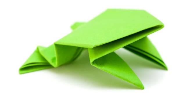 Come fare una rana con origami