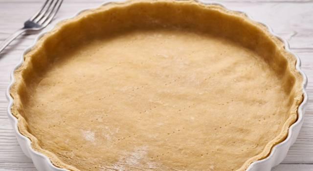 Come sostituire burro con olio nella pasta frolla