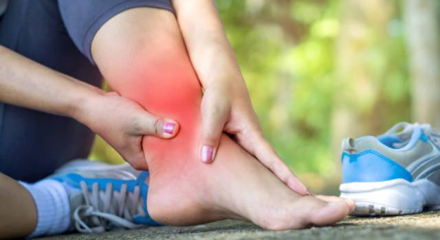 Quanto dura gonfiore dopo distorsione alla caviglia