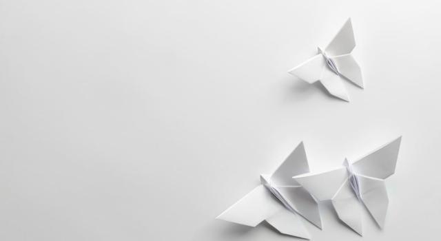 Come fare una farfalla con origami