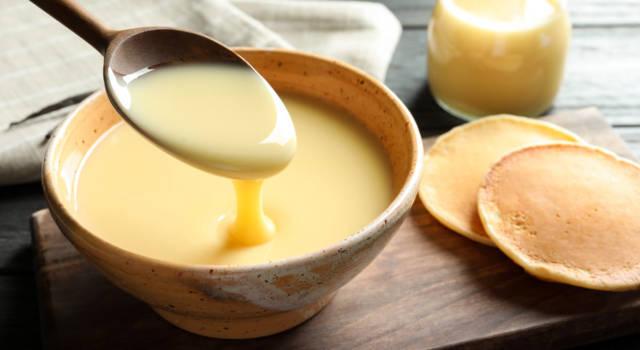 Ricetta del latte condensato zuccherato