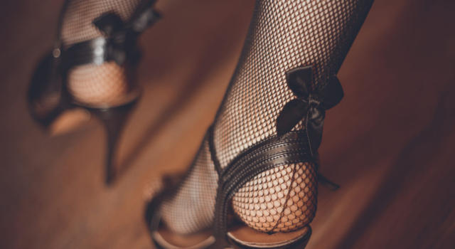 Come abbinare le calze a rete