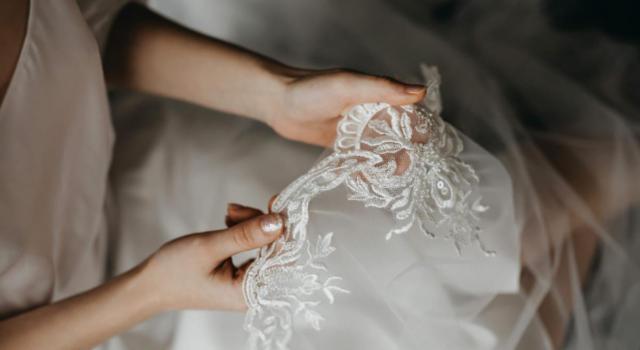 10 acconciature da sposa con veletta