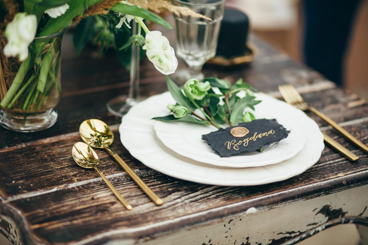 tavola apparecchiata matrimonio