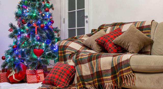 Come decorare le sedie per Natale