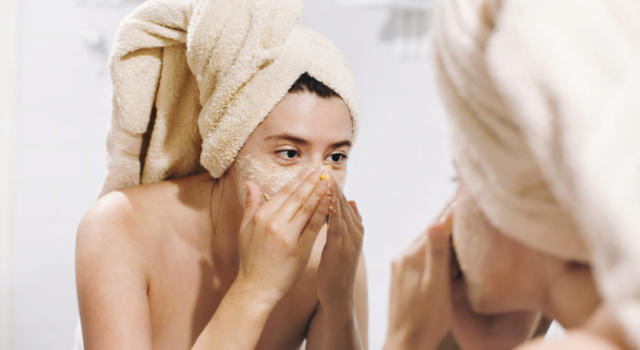 Come fare maschera viso per pori dilatati