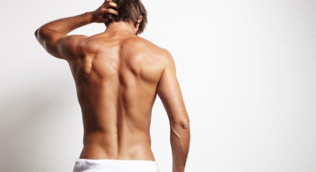 Quanto costa ceretta schiena uomo