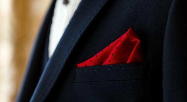 Come piegare fazzoletto della giacca