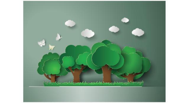 Come fare alberi con riciclo creativo