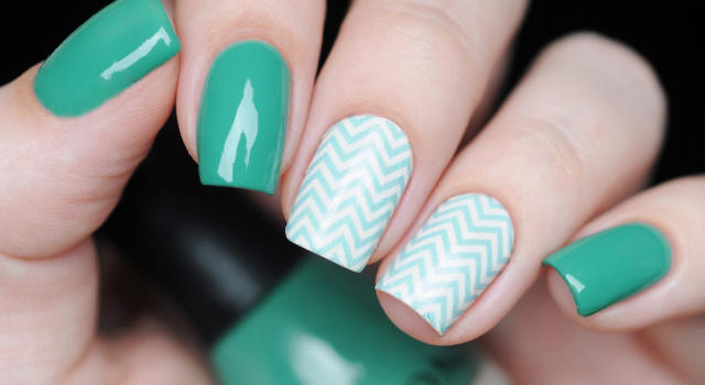 Che cos'è chevron nail art