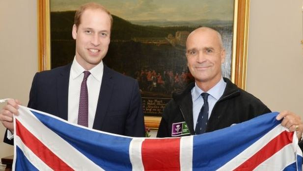 Principe William e Henry Worsley