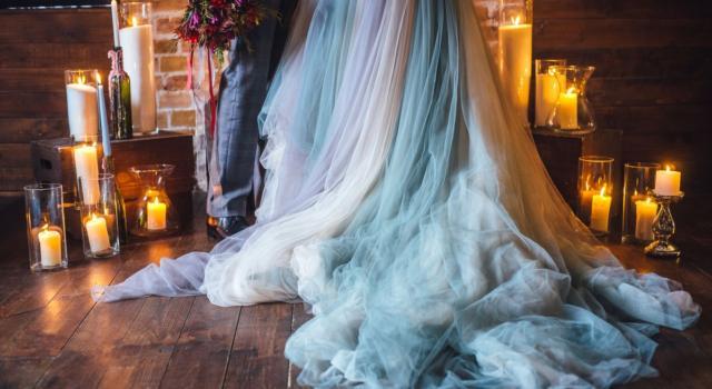 Come organizzare matrimonio color azzurro serenity