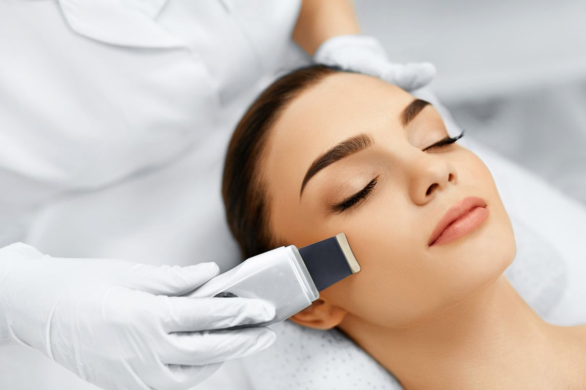 trattamento estetico peeling ultrasonico