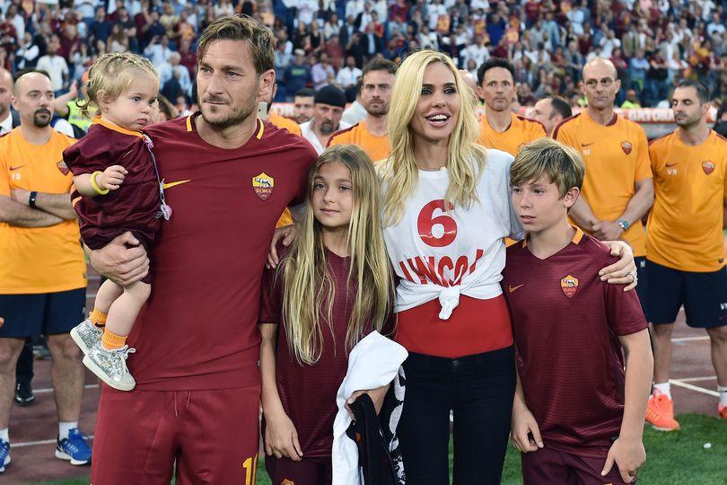 Figli di Ilary Blasi e Francesco Totti