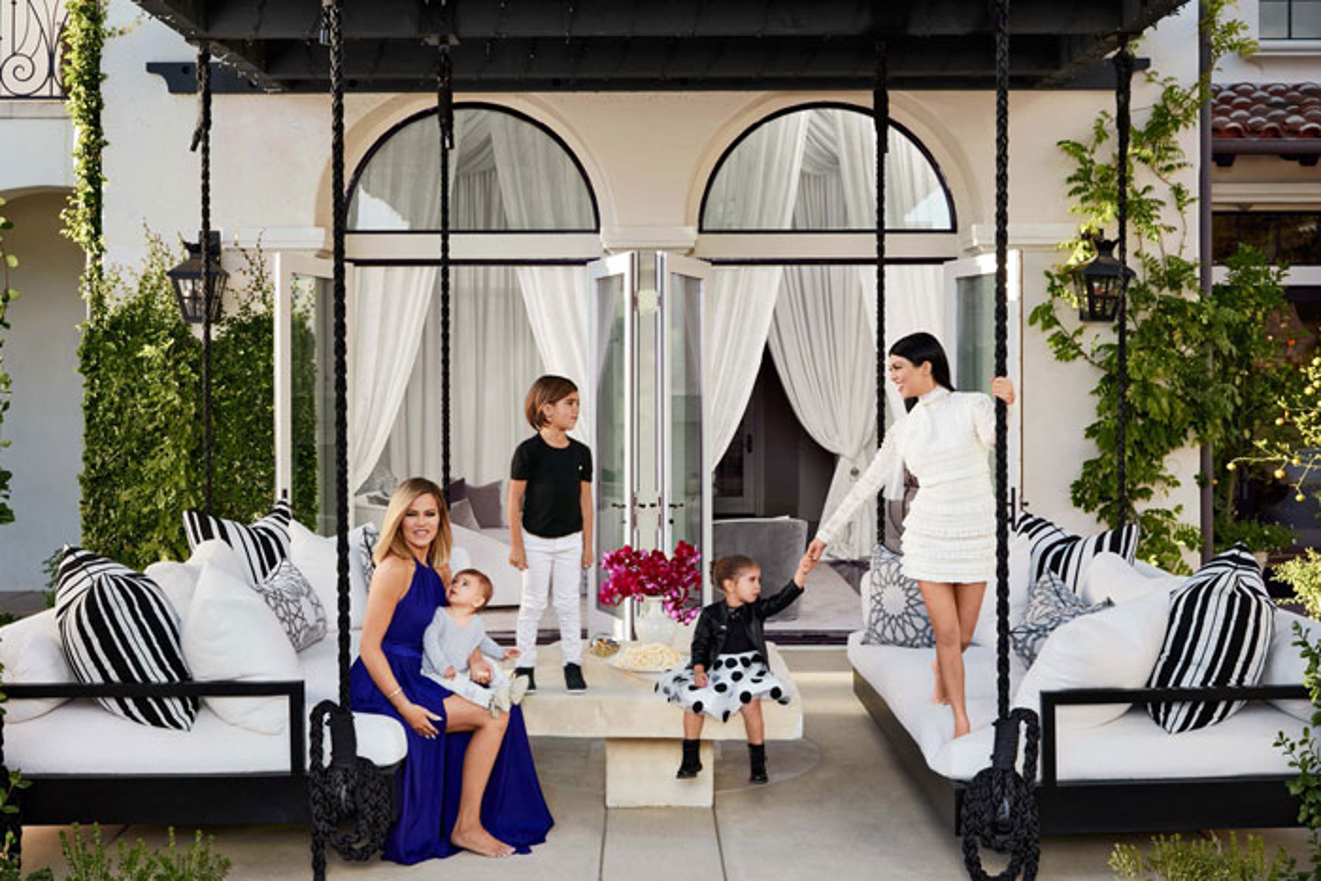 Kourtney kardashian e khlo le loro case da sogno sulla for Rivista di case da sogno