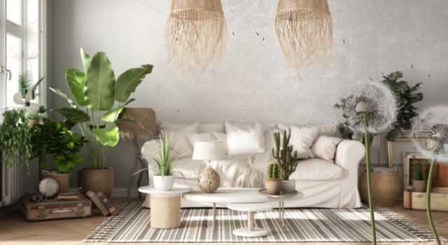Feng shui, colori da usare pareti del salotto
