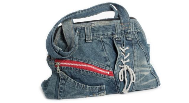 Come foderare una borsa di jeans