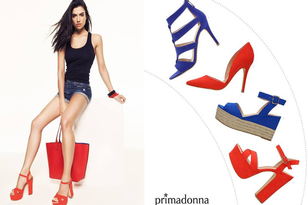 Primadonna scarpe primavera estate 2016
