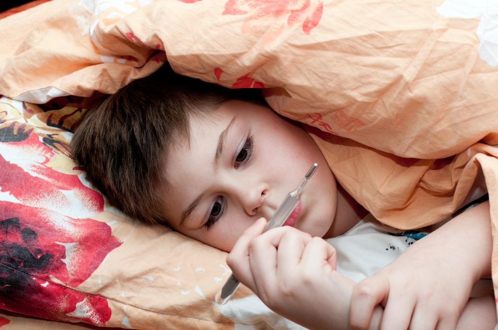 Bimbo Febbre Raffreddore