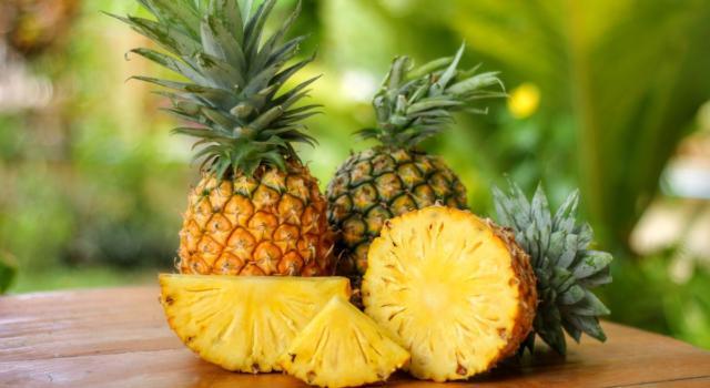 Come conservare ananas