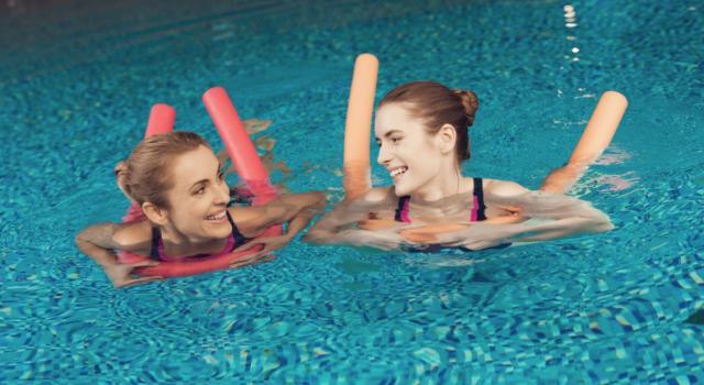 Quali sono esercizi acqua pilates