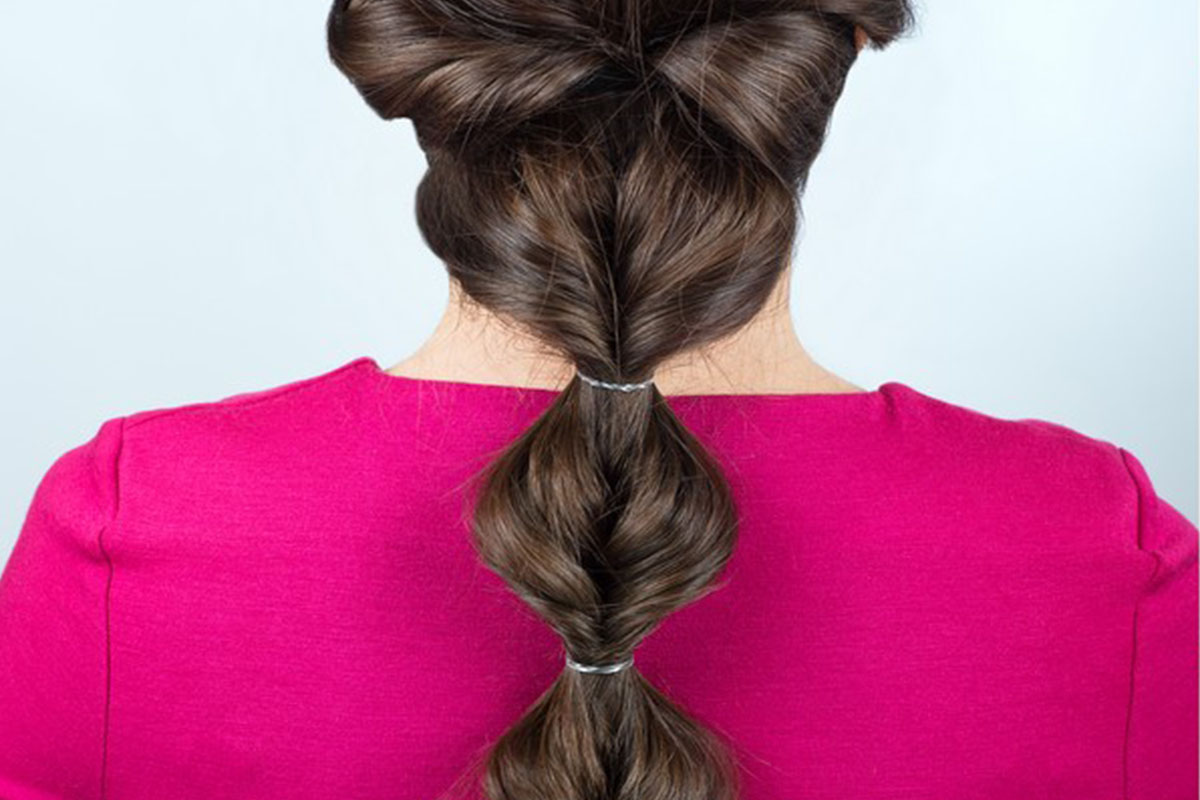 Capelli bubble ponytail