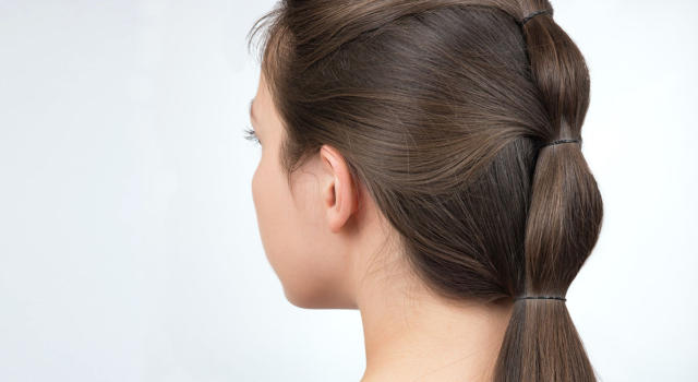 Bubble ponytail cos'è