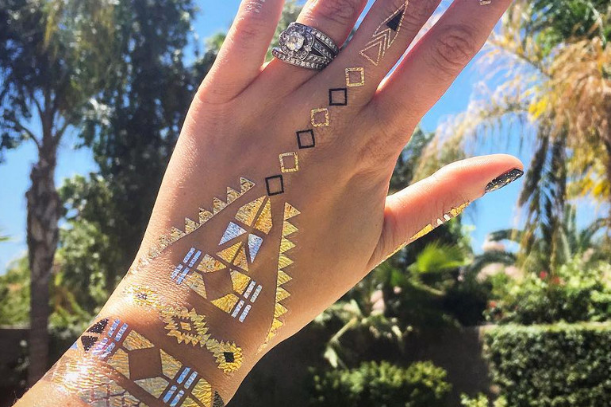 Tatuaggi oro