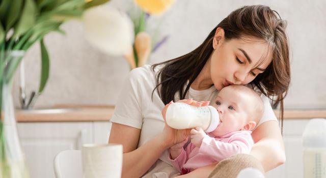 Il latte vegetale per neonati