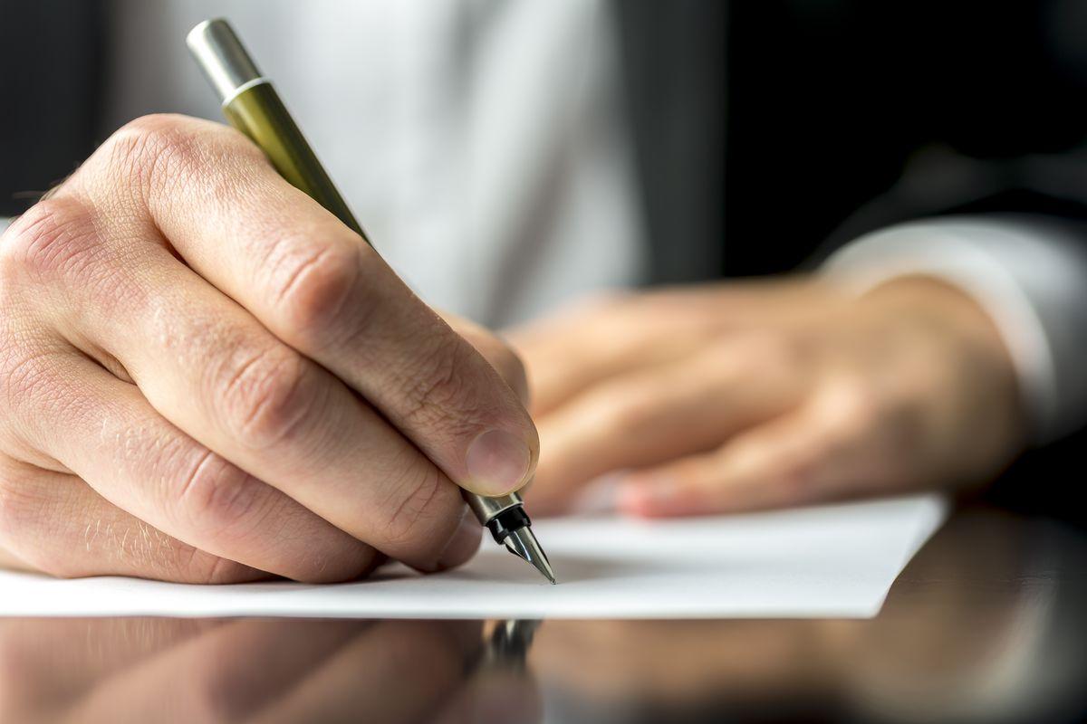 Scrivere penna