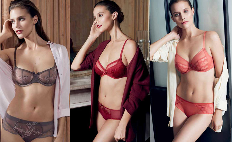 Chantelle lingerie autunno inverno 2016
