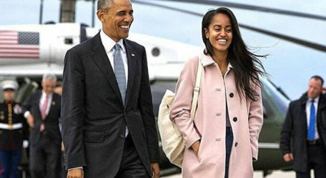 Malia Obama e l'incidente alla Marylin Monroe, Dagospia segnala