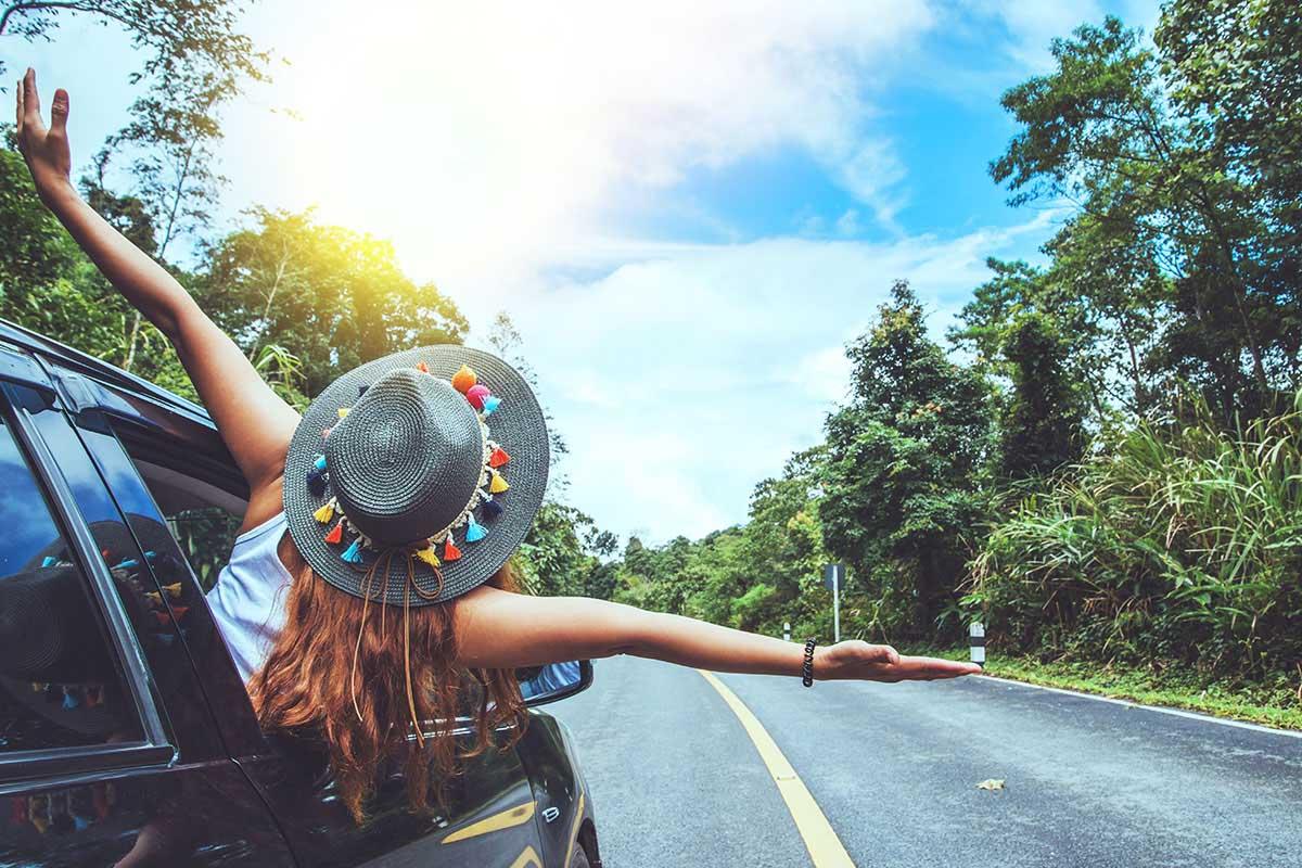 Viaggio in auto vacanze