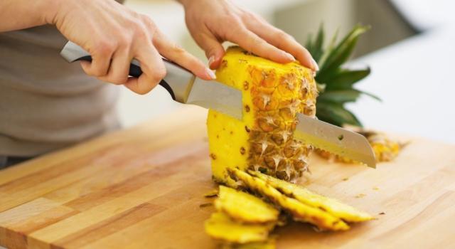 Come pulire ananas