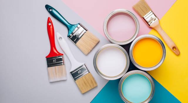 Eliminare l'odore di vernice