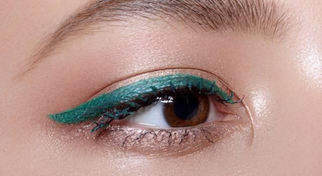 Eyeliner colorati per occhi castani