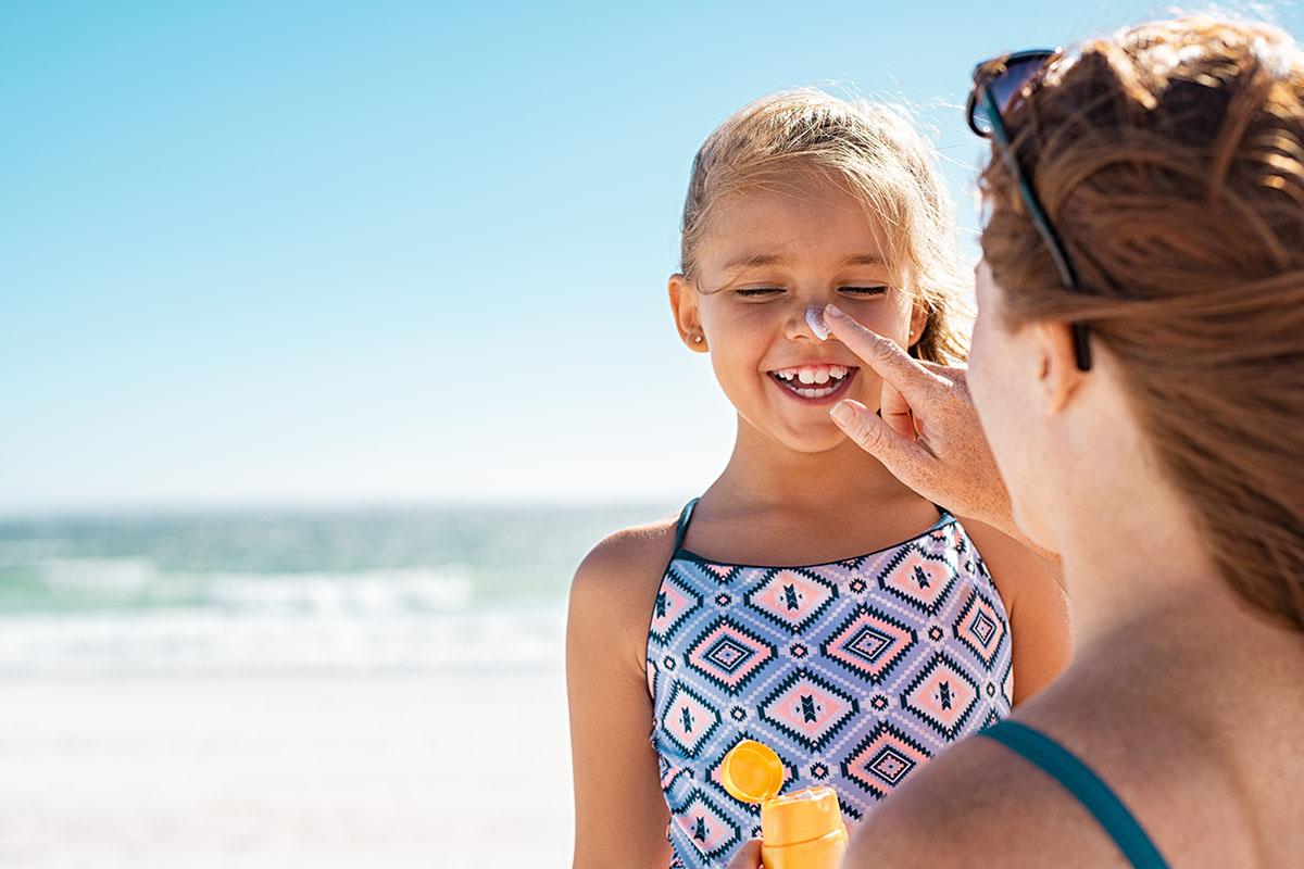 Protezione Solare Crema Bambini Mamma