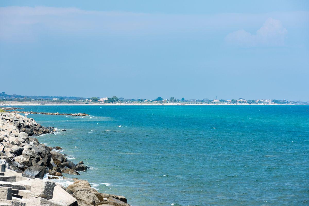 Spiaggia Calabria Torre Melissa