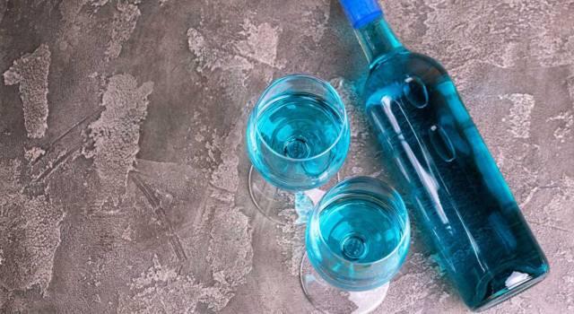 Cos'è il vino blu?
