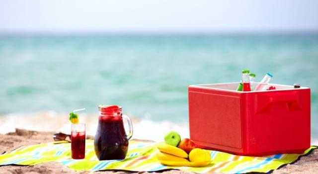 Cosa portare per pranzo in spiaggia?
