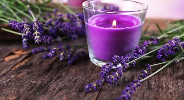 Candele per l'aromaterapia