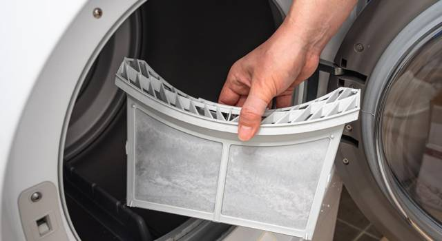 Eliminare odore dall'asciugatrice